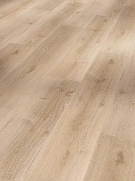 Vinyl Basic 30 Eiche Royal hell gekälkt Holzstruktur Landhausdiele