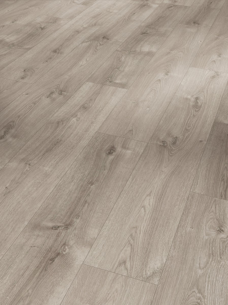 Eco Balance PUR Eiche Valere perlgrau gekälkt Holzstruktur Landhausdiele Minifase