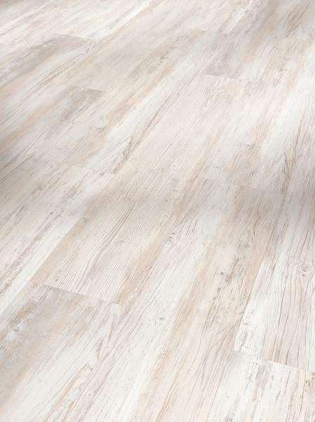 Vinyl Basic 2.0 Pinie skandinavisch weiß gebürstete Struktur Landhausdiele
