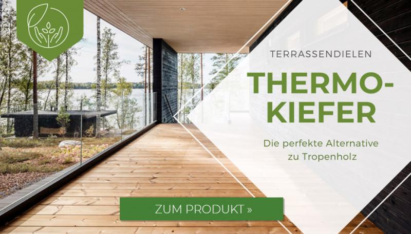 Terrassendielen Thermokiefer